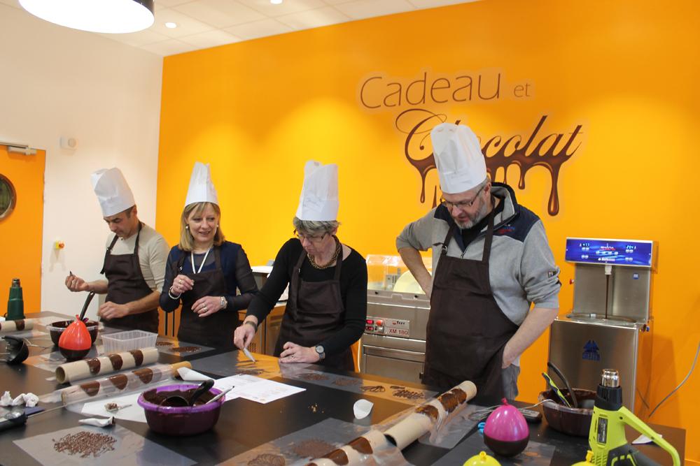 Cours De Chocolat Indre Et Loire Tours Manthelan Décors Dessert