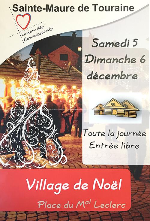 Marche de Noël de Sainte-maure-de-touraine - Village de Noël