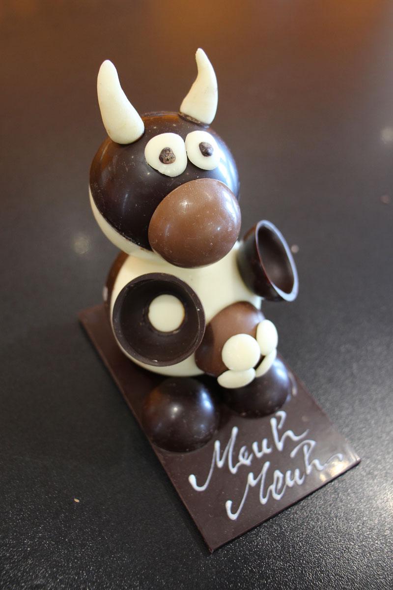 Bonhomme en chocolat à fabriquer dans chocolaterie artisanale à Manthelan