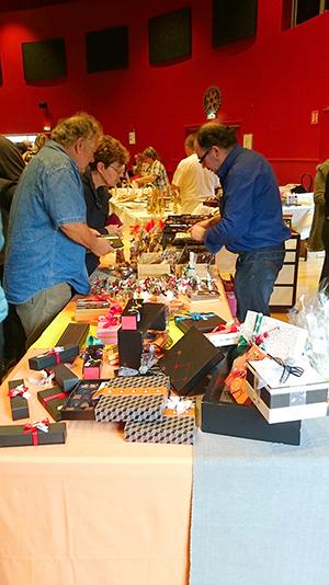 Cadeau et Chocolat lors de la 10ème édition du Salon du Chocolat de Loches