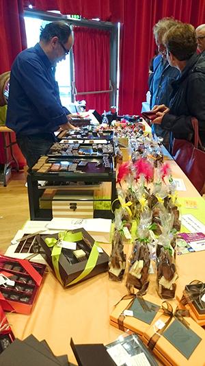 Cadeau et Chocolat lors de la 10ème édition du Salon de Chocolat de Loches