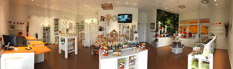 Showroom Cadeau et Chocolat Manthelan