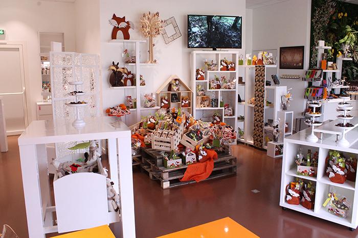 Showroom Cadeau et Chocolat - Carre saisonnier