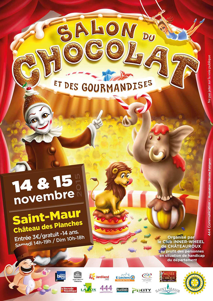 Salon du Chocolat et des Gourmandises de Saint-maur (36)