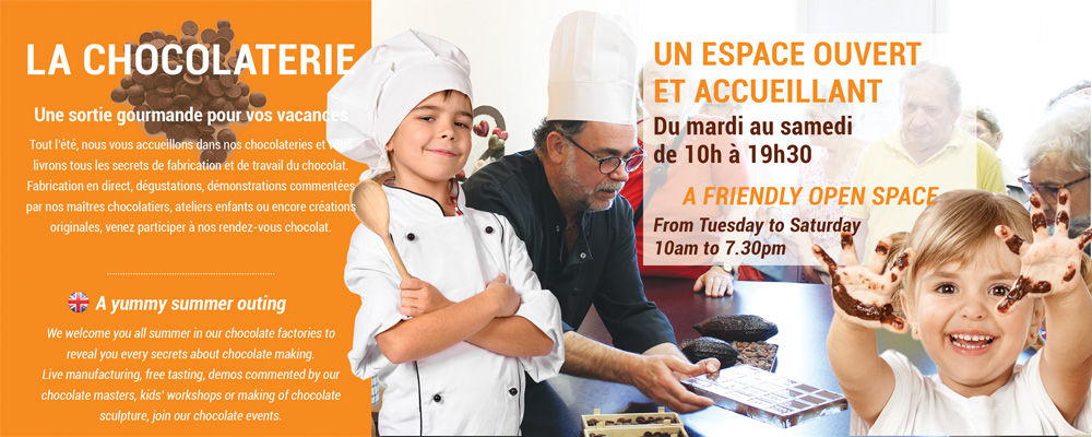 Planning animations chocolaterie