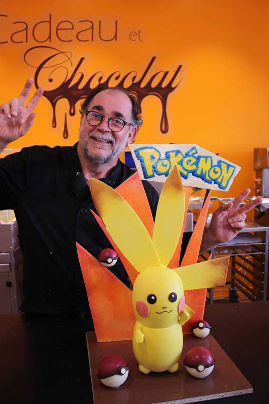 Création Pokemon à la chocolaterie de Manthelan